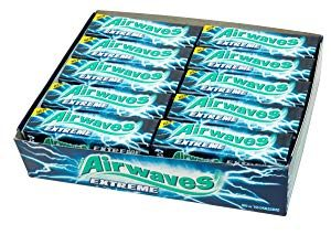 Wrigleys Airwaves Extreme Menthol and Eucalyptus