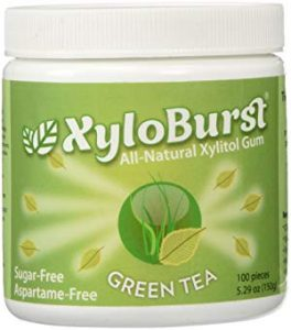 XyloBurst Gum Jar Green Tea