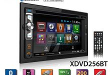 "Dual XDVD256BT Digital Multimedia 6.2"" LED Backlit LCD Touchscreen Double DIN Car Stereo with Built-in Bluetooth"