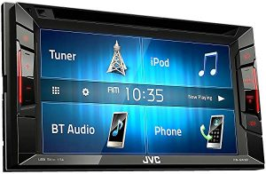 JVC Multimedia Receiver w/ WVGA Clear Resistive Touch Monitor