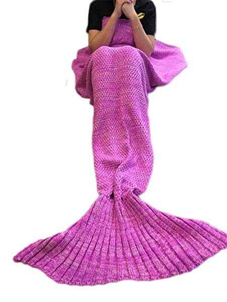 Top 10 Best Mermaid Tail Blankets 2019 Reviews