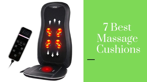 Top 7 Best Massage Cushions: Budget, for Cars, Shiatsu & More