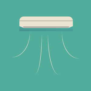 Cooling of Air Conditioner