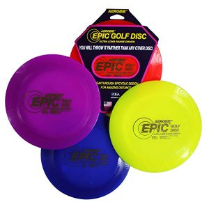 Aerobie Epic Gold Disc – Best Golf Disc for Tomahawk Throw