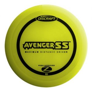 Discraft Avenger SS Elite Z Golf Disc – Best Golf Disc for Sidearm
