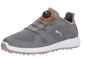 PUMA Men's Ignite Pwradapt Disc Golf Shoes Black
