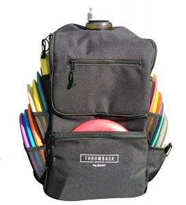 Throwback All Day Pack – Disc Golf Backpack with Oversize Cooler Built-in