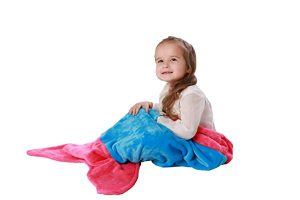 Cuddly Blankets Mermaid Tail Blanket – Best for Toddlers