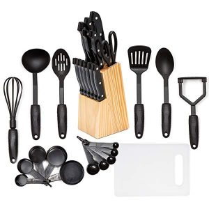 Hullr Kitchen Utensils and Knife set
