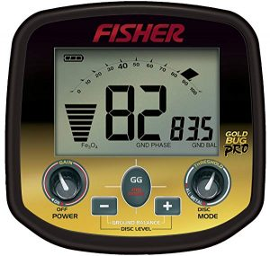Fisher metal detector for gold