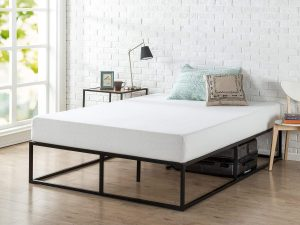 Zinus Joseph bed frame for heavy person